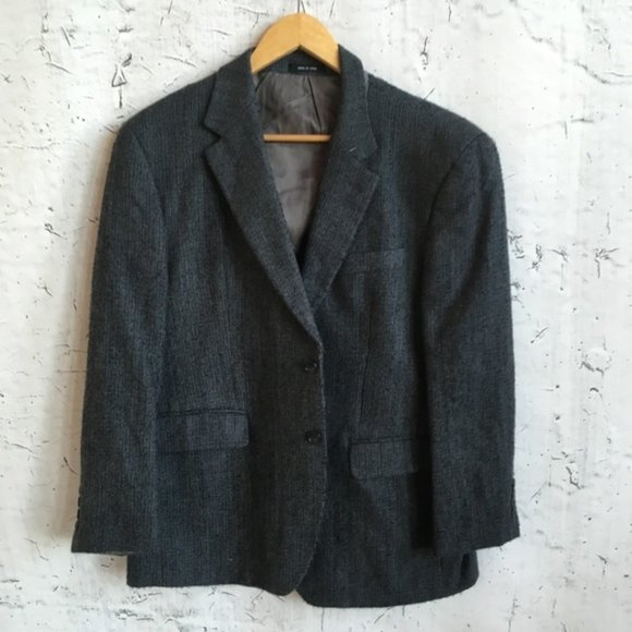 Izod Other - IZOD LAMBS WOOL GREY BLAZER 40S